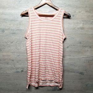 Sonoma Striped Soft Knit Tank Top. Brand New!